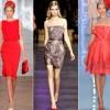 Модні коктейльні сукні весна -літо 2014