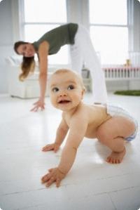 убрать живот после родов