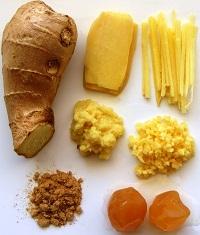 Салат из имбиря для похудения