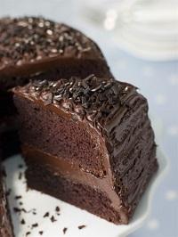 шоколадный пирог по-шведски